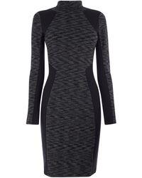 Karen Millen - Panelled Bodycon Dress - Lyst