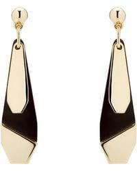 Karen Millen - Geometric Charm Drop Earrings - Lyst