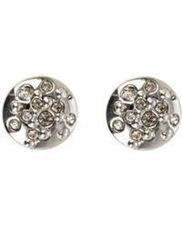 Karen Millen - Crystal Sprinkle Stud Earrings - Km - Lyst
