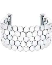 Karen Millen - Geometric Bracelet - Lyst
