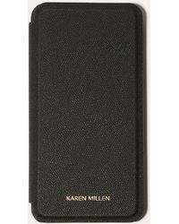 Karen Millen - Iphone Plus Folio Case - Lyst