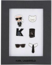 Karl Lagerfeld - K/ikonik Pins - Lyst