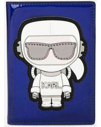 Karl Lagerfeld - Karl Space Passport Holder - Lyst