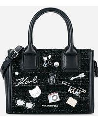 Karl Lagerfeld - K/klassik Pins Mini Tote Bag - Lyst