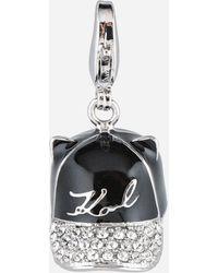 Karl Lagerfeld - K/ikonik Hat Charm - Lyst
