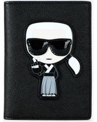 Karl Lagerfeld - K/tokyo Passport Holder - Lyst