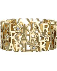 Karl Lagerfeld - Large Karl Star Ring - Lyst