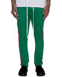 552d36144 adidas Originals. Sport Luxe Moto Jogger Pant. $65. Amazon Prime · Lifted  Anchors - The Jenner Track Pants In Italia Luxe Green And Red - Lyst