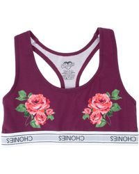 Chonies Brand - The Roses Sports Bra - Lyst