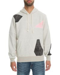Hall of Fame - The Patchwork Pullover Hoodie - Lyst