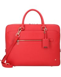 79e016de9346b Lyst - Dolce   Gabbana Handtasche Lucia Aus Leder Mit Patch in Rot