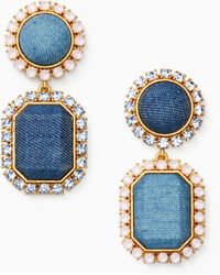 Kate Spade - Denim Dreams Drop Earrings - Lyst