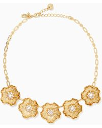 Kate Spade - Precious Poppies Necklace - Lyst
