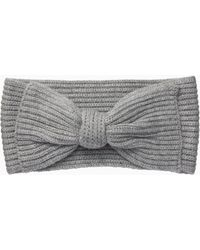 Kate Spade - Solid Bow Headband - Lyst