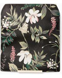 Kate Spade - Make It Mine Botanical Print Flap - Lyst