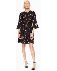 Kate Spade - In Bloom Ruffle Dress - Lyst