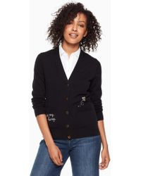 Kate Spade - Bee My Honey Cardigan - Lyst