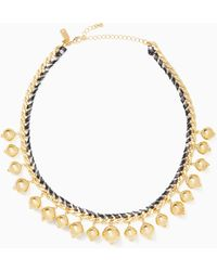 Kate Spade - Pretty Pearly Crew Necklace - Lyst