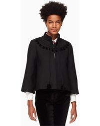 Kate Spade - Pom Embroidered Jacket - Lyst