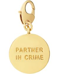 Kate Spade | Partners In Crime Charm | Lyst