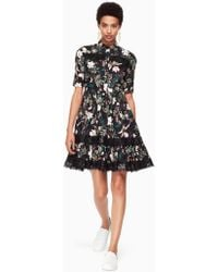 Kate Spade - Botanical Poplin Dress - Lyst