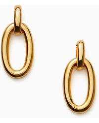 Kate Spade - Chain Reaction Link Drop Earrings - Lyst
