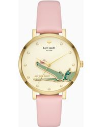 Kate Spade - Alligator Monterey Watch - Lyst