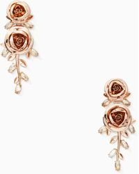 Kate Spade - Garden Garland Statement Earrings - Lyst