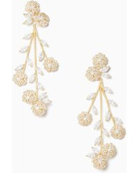 Kate Spade - That Special Sparkle Statement Earrings - Lyst