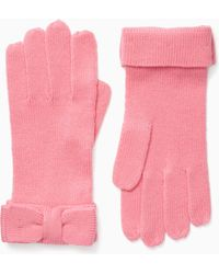 Kate Spade - Bow Gloves - Lyst