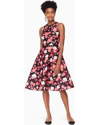 Kate Spade - Blooming Mikado Dress - Lyst