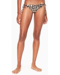 Kate Spade - Crystal Cove String Bikini Bottom - Lyst