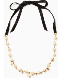 Kate Spade - Grandma's Closet Necklace - Lyst