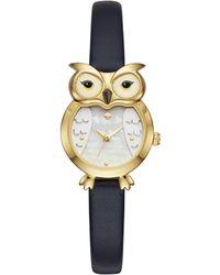 Kate Spade - Owl Watch - Lyst