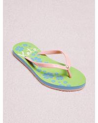 Kate Spade - Natal Flip-flop Sandals - Lyst