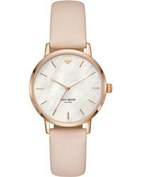 Kate Spade - Rose Gold Metro With Vachetta Leather - Lyst