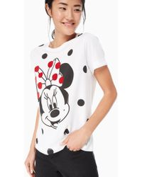 Kate Spade - Minnie Mouse Tee - Lyst