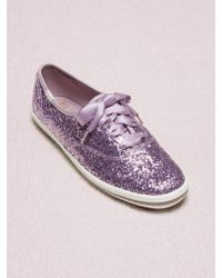 f4f1d6d2e63e Kate Spade Kick Flamingo Dot Keds Sneakers - Cream Flamingo Dot in ...