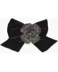 Kate Spade - Midnight Rose Rose Bow Pin - Lyst