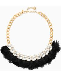 Kate Spade - In Full Feather Necklace - Lyst
