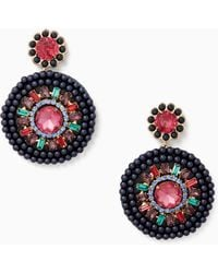 Kate Spade - Luminous Leather Statement Earrings - Lyst
