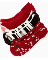 Kate Spade - Camellia Liner Sock Set - Lyst