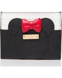 Kate Spade - New York For Minnie Mouse Minnie Card Case - Lyst