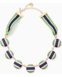 Kate Spade - Set Sail Necklace - Lyst