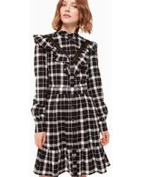 Kate Spade - Rustic Plaid Flannel Dress - Lyst