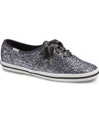 b9eaace6b61 Lyst - Keds X Kate Spade New York Champion Glitter. in Blue