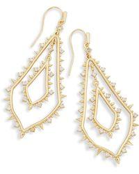 Kendra Scott - Alice Drop Earrings In Gold - Lyst