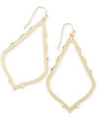 Kendra Scott - Sophee Textured Drop Earrings - Lyst