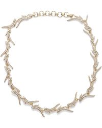 Kendra Scott - Cleo Collar Necklace In Gold - Lyst