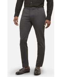 Kenneth Cole - Slim-fit Stretch Dress Pant In Comfort Knit - Lyst